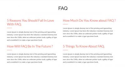 FAQ View 1