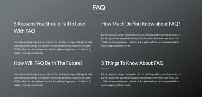 FAQ View 2
